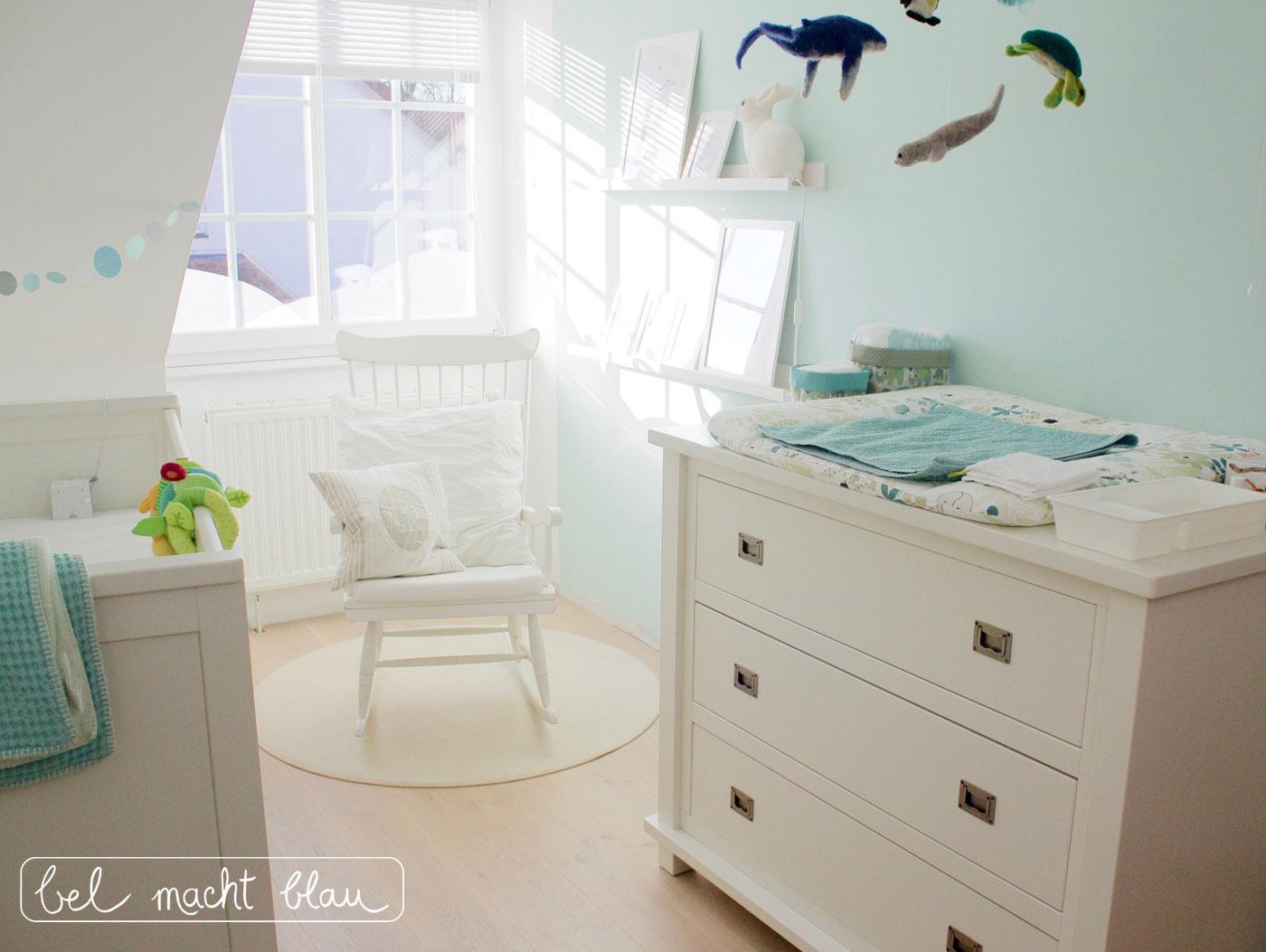 Babyzimmer mint 1 logo bel macht blau - Babyzimmer mint ...