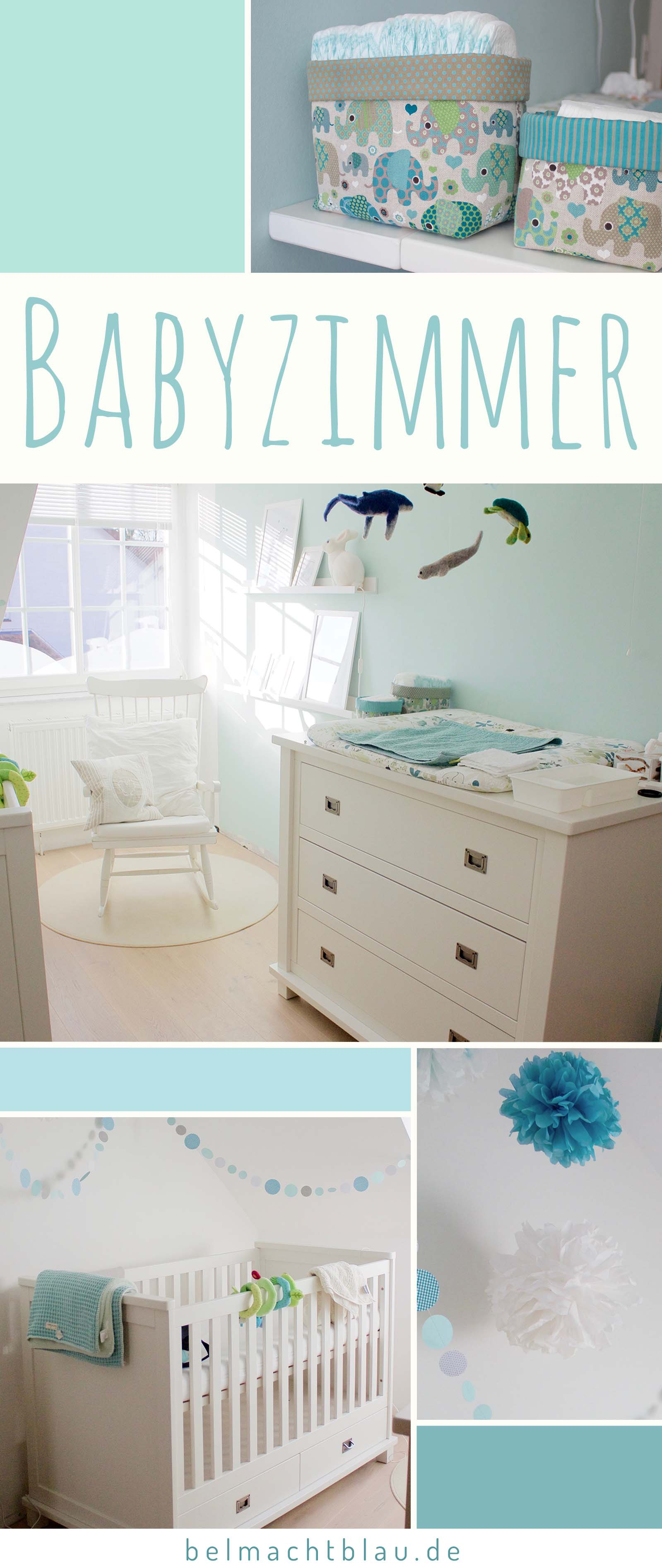 einblicke ins babyzimmer bel macht blau. Black Bedroom Furniture Sets. Home Design Ideas