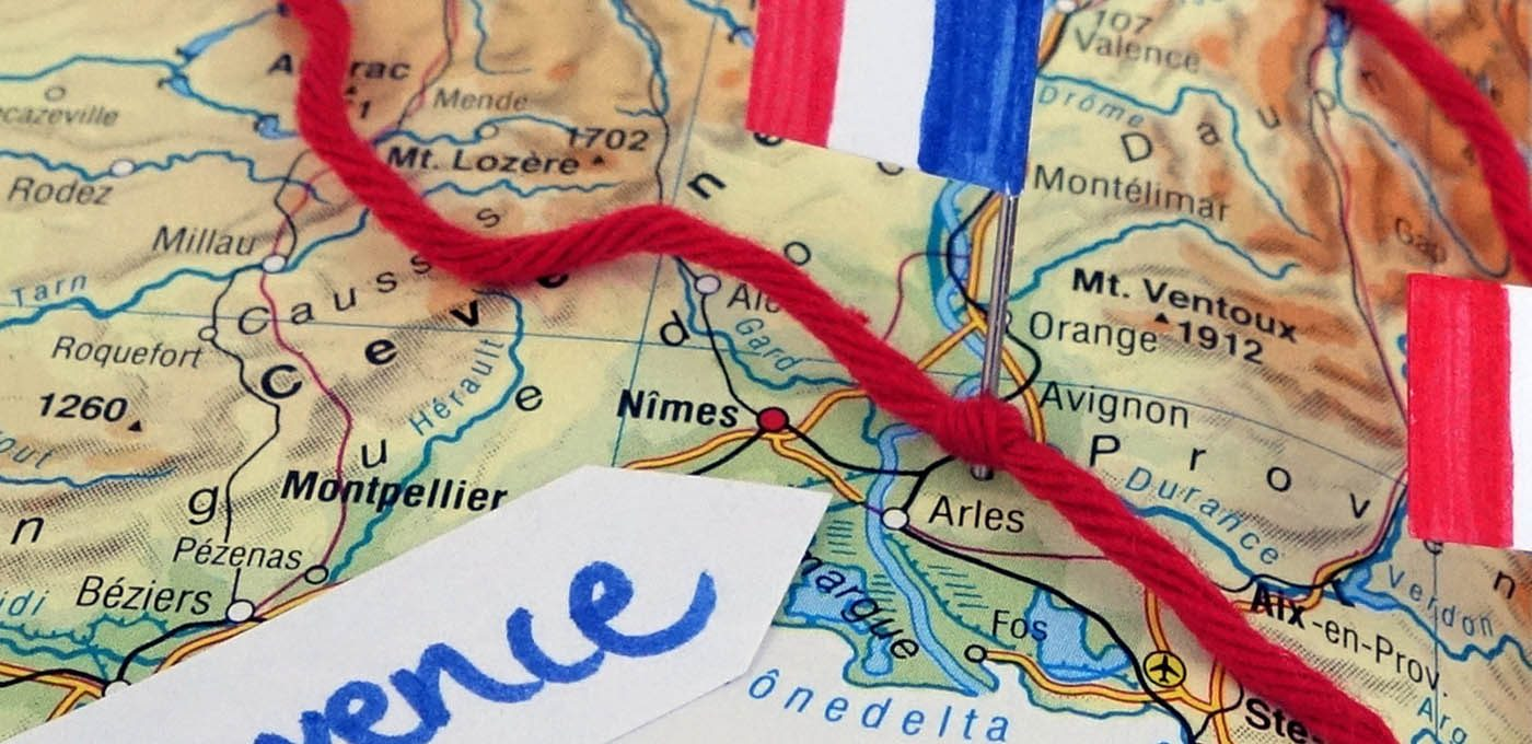 Reisen mit Baby - Provence