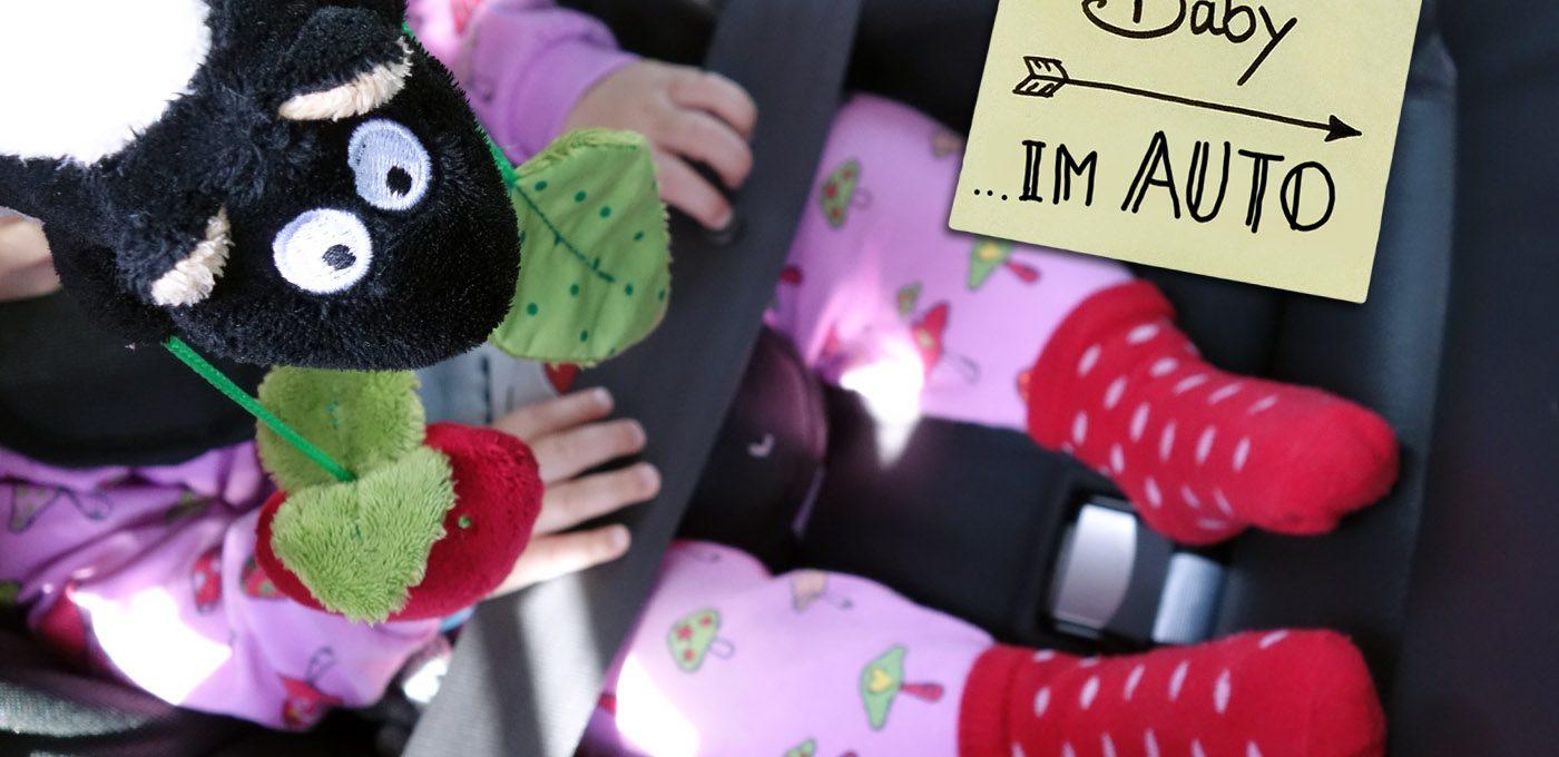 Reisen mit Baby - Top-Tipps zum Thema Autofahren mit Baby