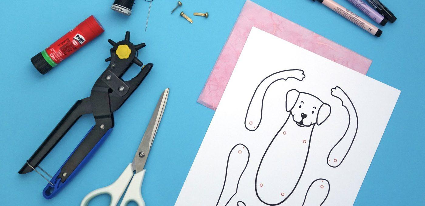 Materialliste für den Hampelhund