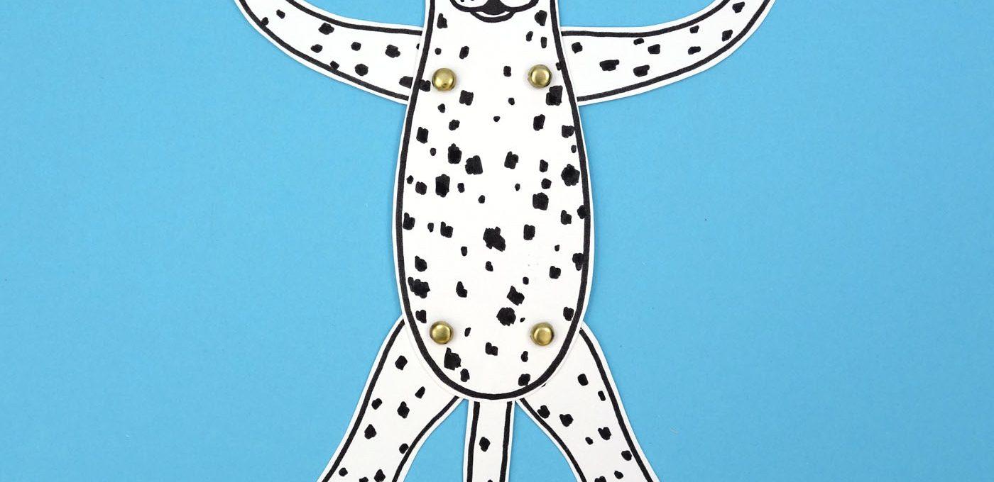 gepunkteter Hampelhund
