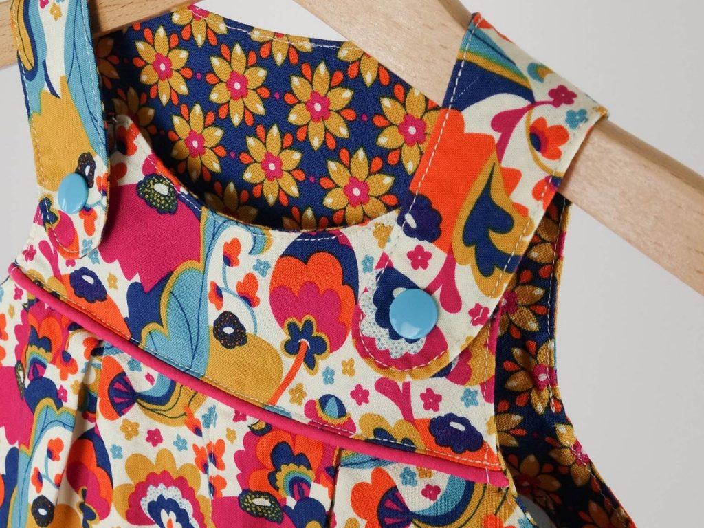 Latzhose #10 von mamasliebchen, Stoffe: Mirabelle von Rebekah Ginda