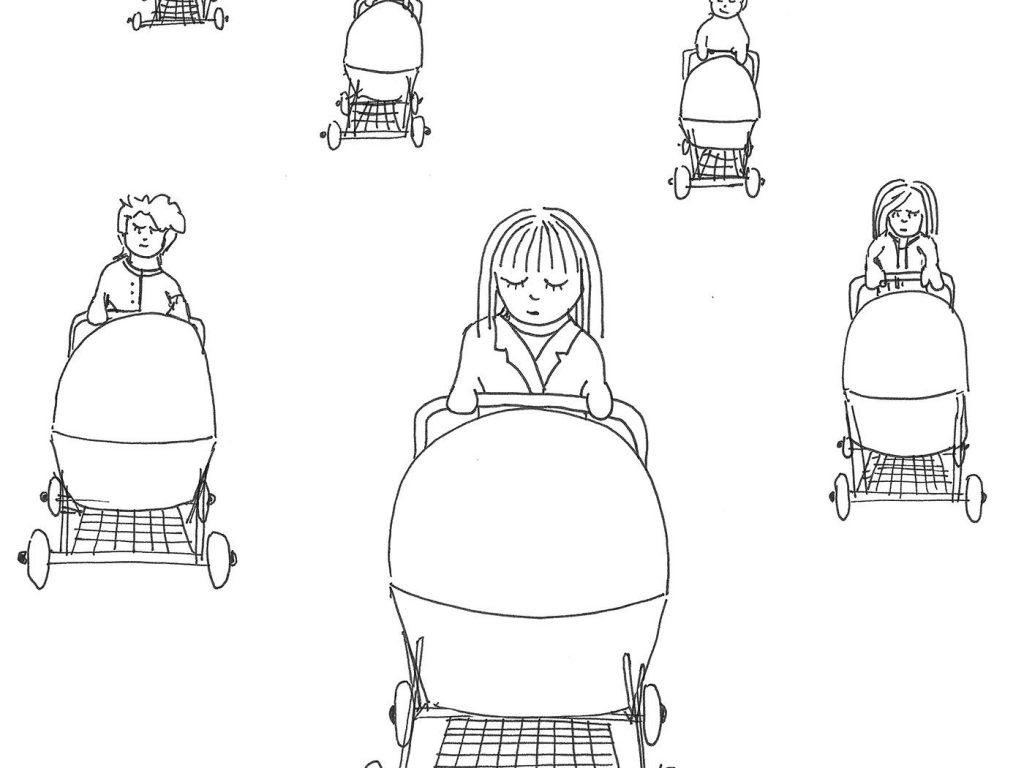 Gemeinsam einsam - über die Einsamkeit als (werdende) Mama