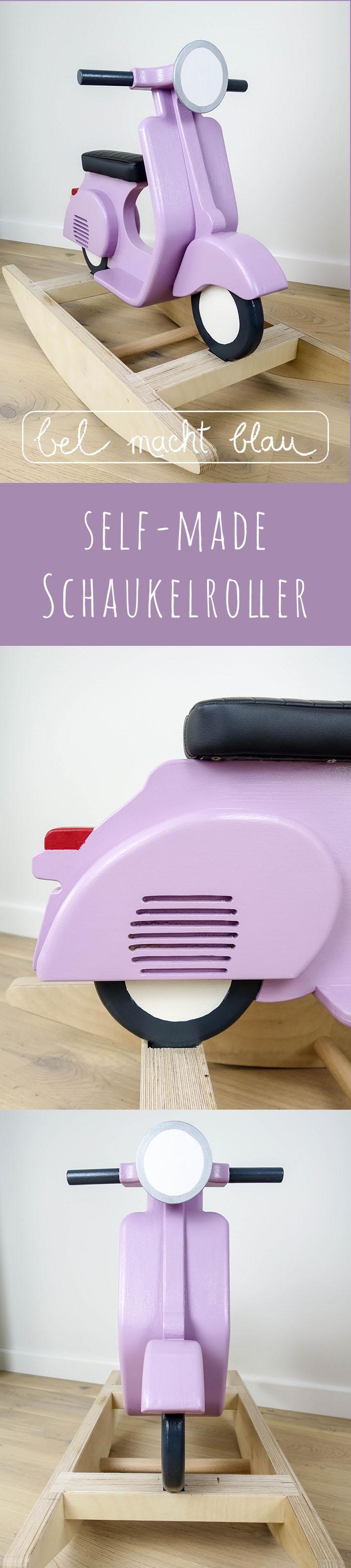 self-made Schaukelroller // ein selbstgebauter Schaukelroller zum 1. Geburtstag