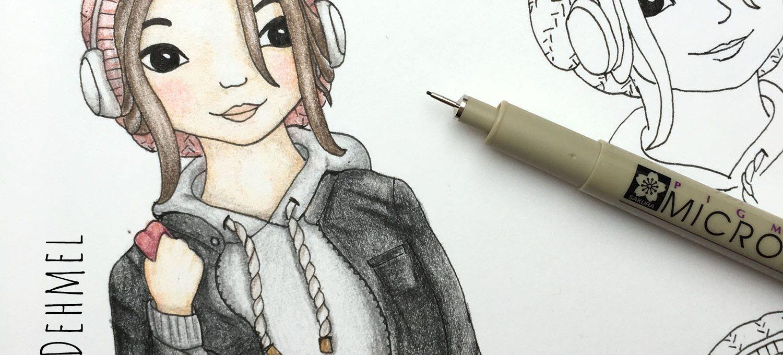 Characterdesign - Illustration von Isabel Dehmel
