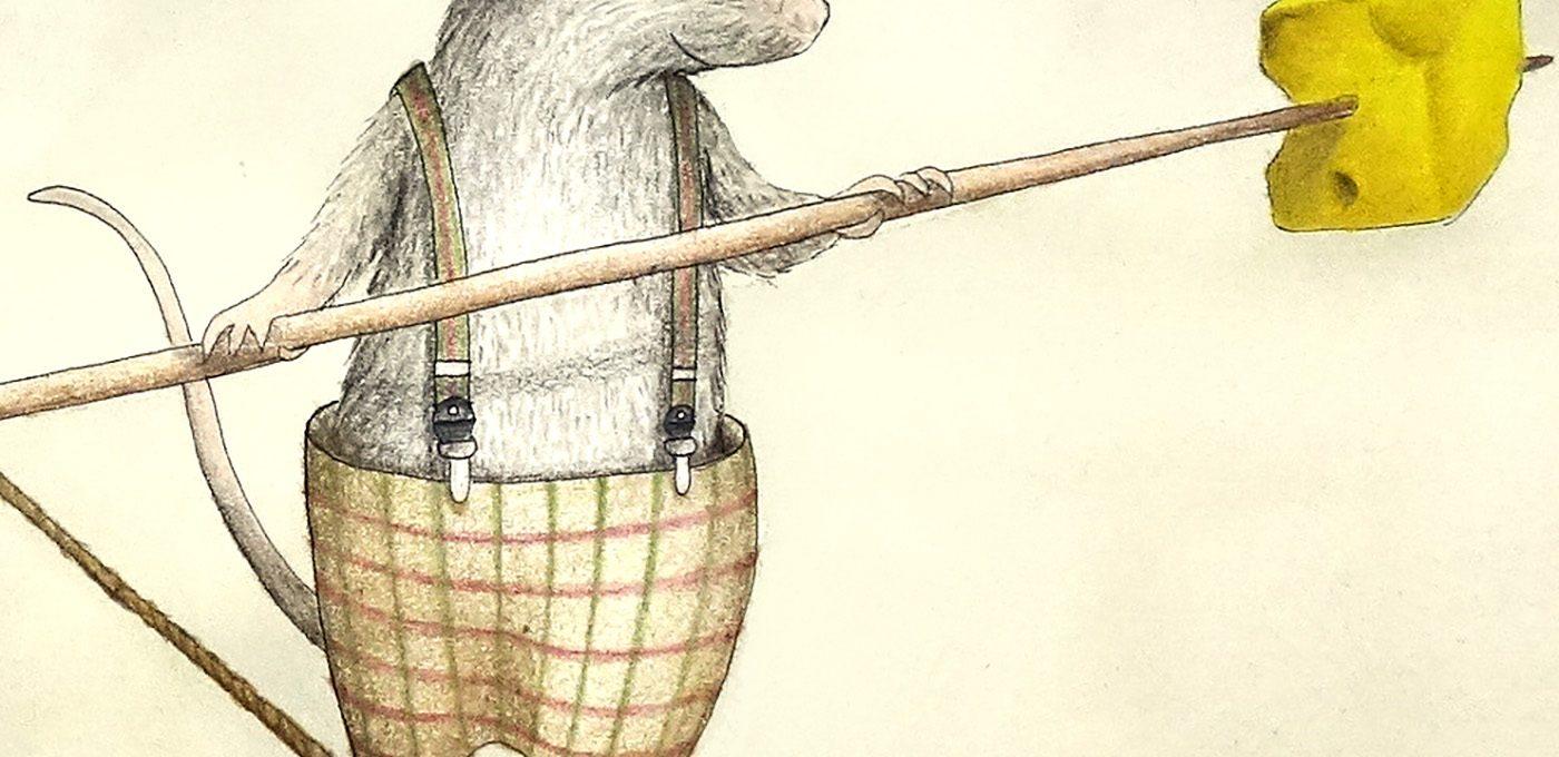 Mäusezirkus (Detail) - Illustration von Isabel Dehmel