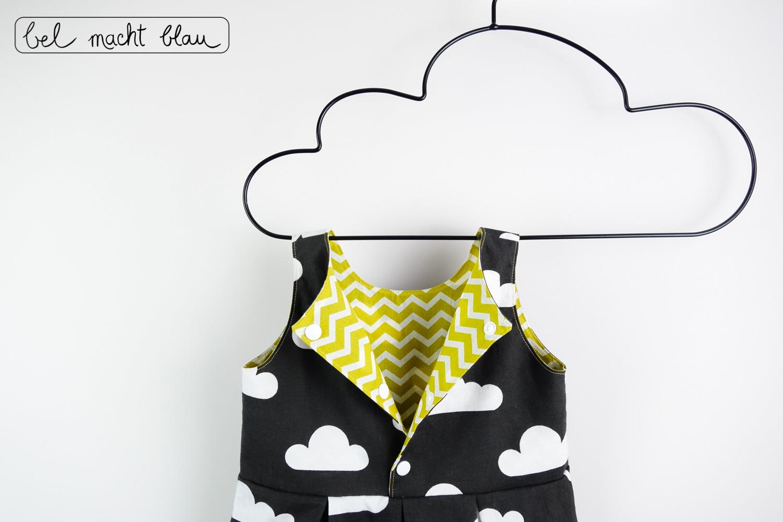 Ein Mädchkleid zur Beerdigung - toller Wolkenstoff - Schnitt: Knoopkleed von groeny