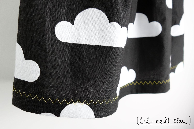 Ein Mädchenkleid zur Beerdigung - Wolkenstoff - Schnitt: Knoopkleed von groeny