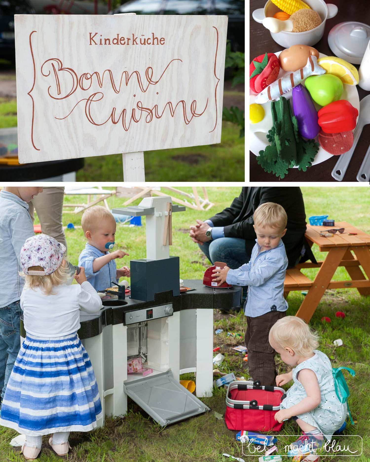 Hochzeit mit Kindern - die besten Beschäftigungsideen - Kinderküche Bonne Cuisine