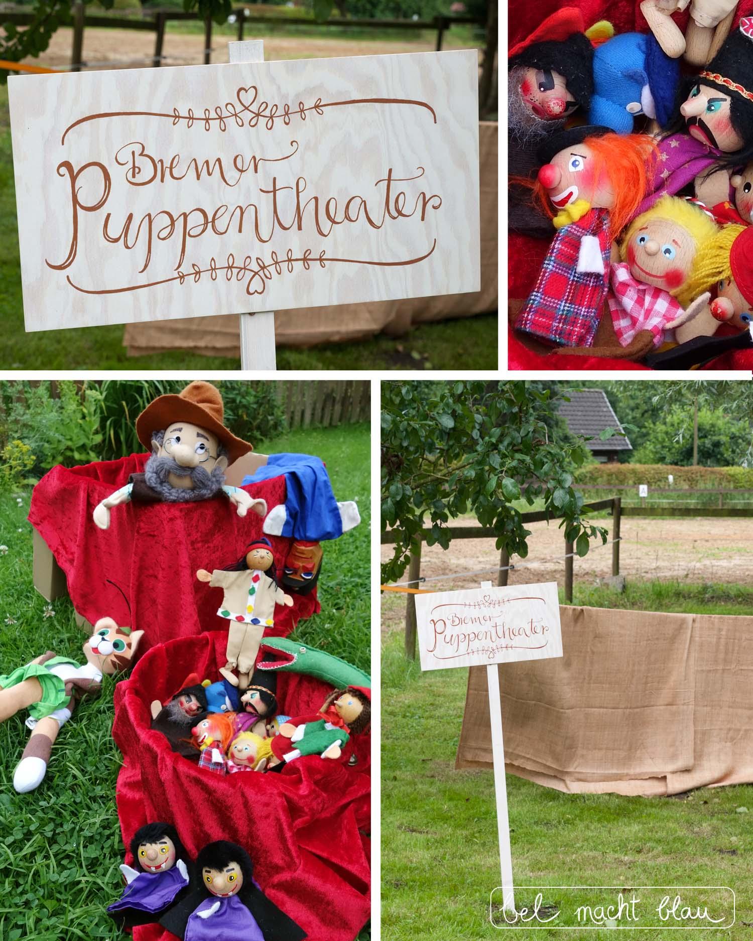 Hochzeit mit Kindern - die besten Beschäftigungsideen - Bremer Puppentheater - Fingerpuppen, Handpuppen