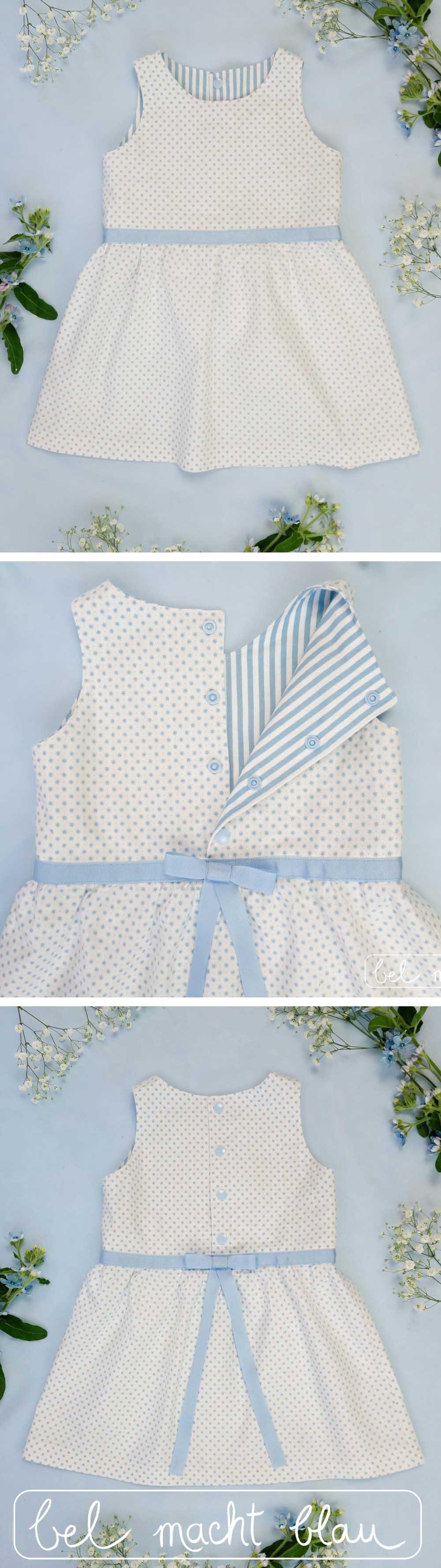 Blumenkinder-Mädchenkleid selber nähen // Familienhochzeit // Hochzeitsinspiration // Knoopkleed von Groeny