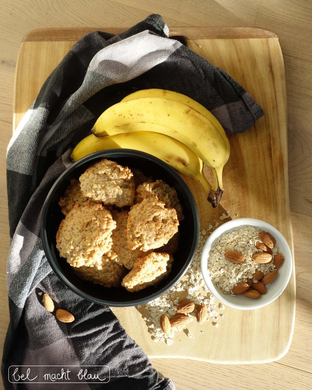 Rezept für leckere Bananen-Hafer-Cookies