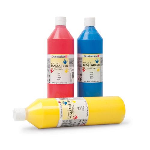 Malen mit Kleinkindern - Gerstaecker Fingermalfarbe
