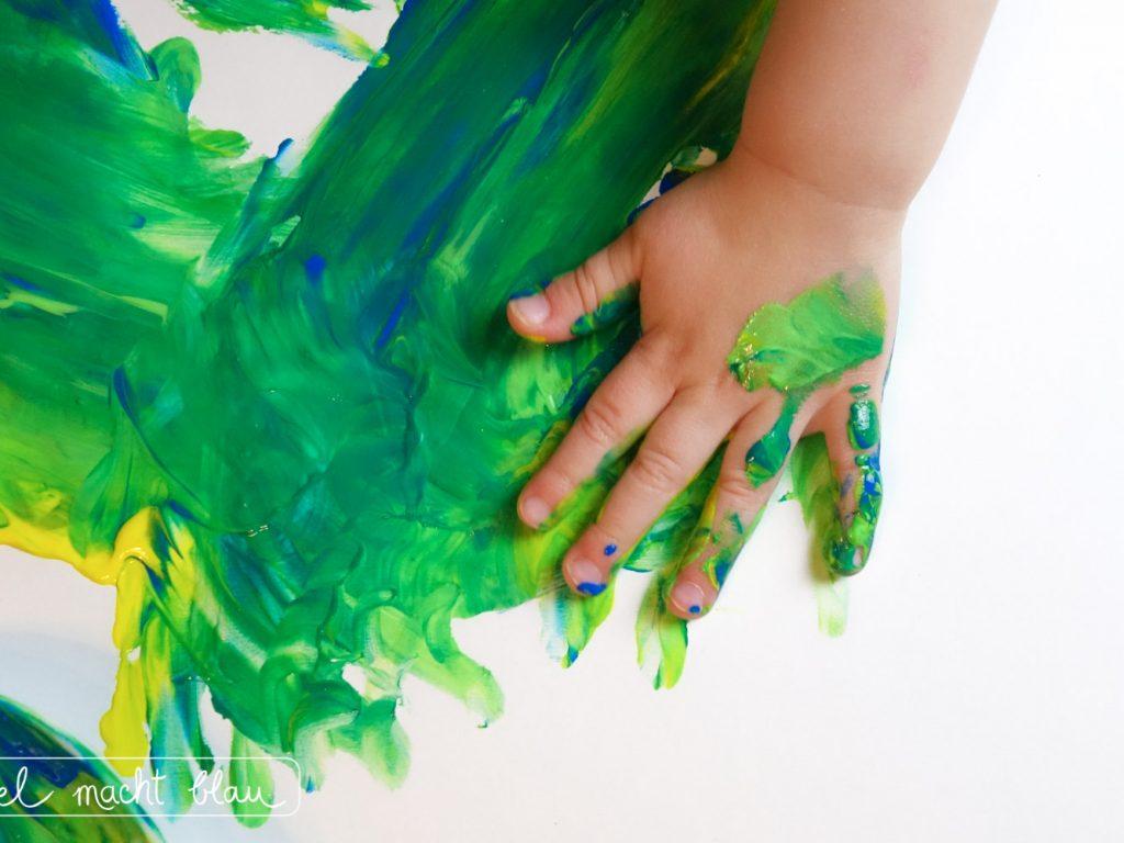 Malen mit Kleinkindern - Tipps für Farben, Pinsel und Papier