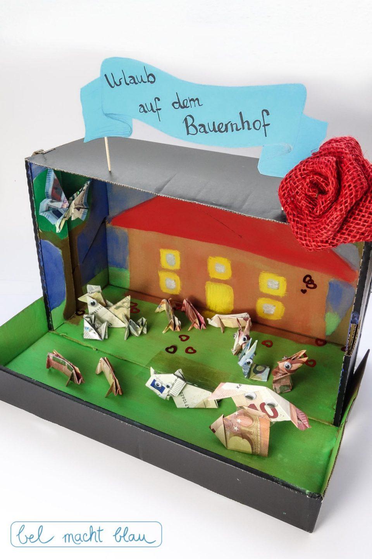 """Geldgeschenke """"Urlaub auf dem Bauernhof"""" - die besten Geschenkideen zur Familienhochzeit"""