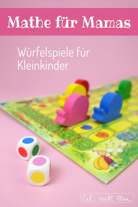 Würfelspiele für Kleinkinder - empfehlenswerte Spieletipps - Geschenkideen // Mathe für Mamas