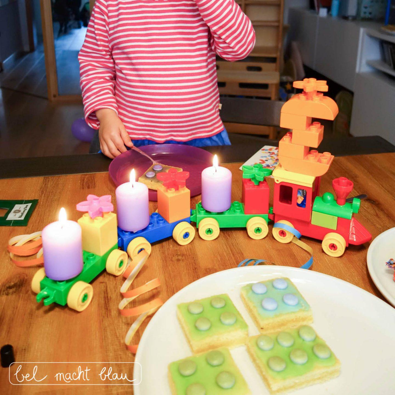 Lego duplo Zahlenzug zum 3. Geburtstag - Ideen für einen Lego duplo Kindergeburtstag